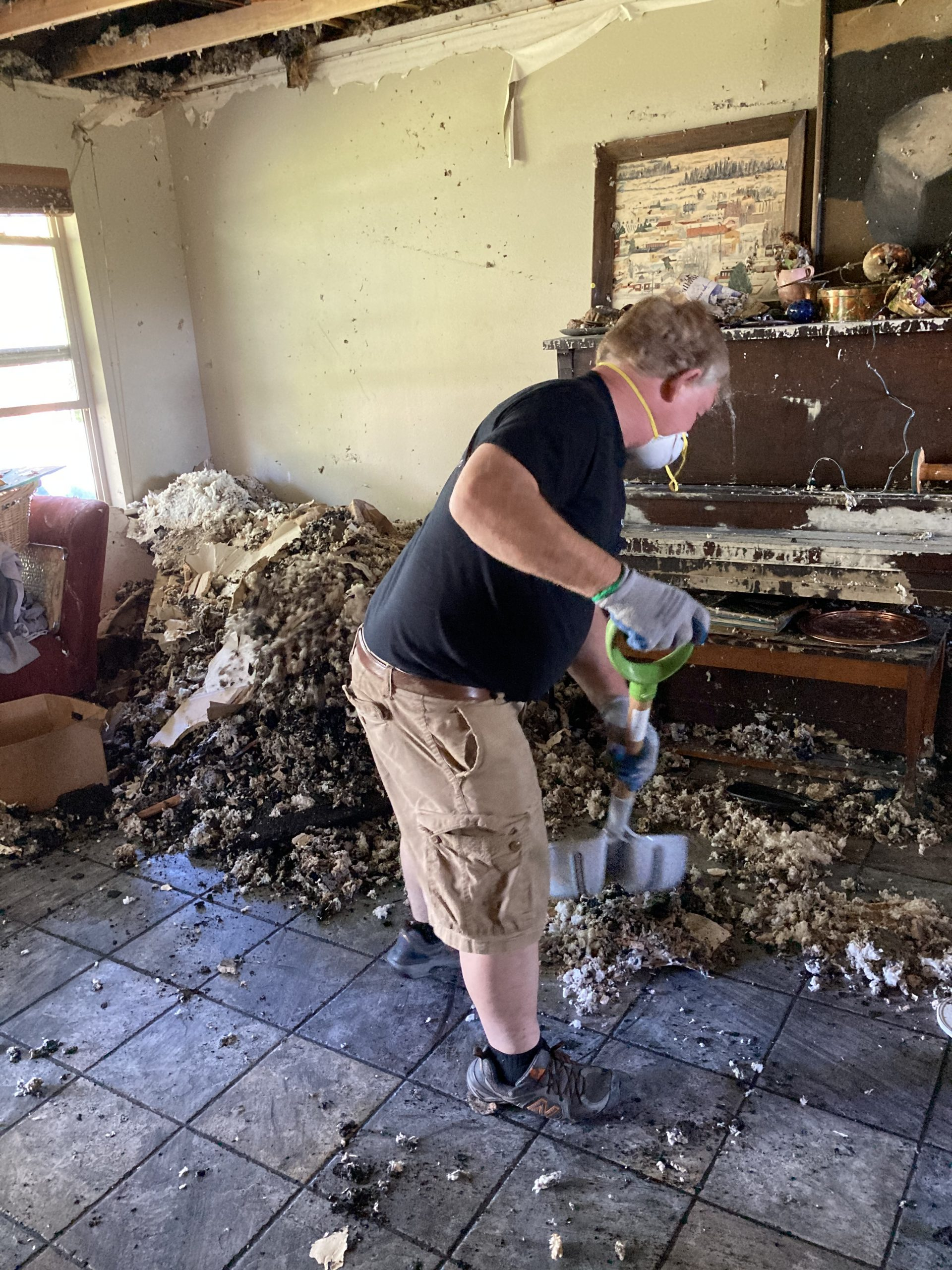 Fire and Smoke Damage Mitigation and Clean Up